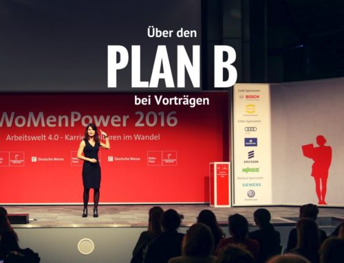 Plan B: Wie Sie sich auf eine Vortragspanne bei Reden und Präsentationen vorbereiten können